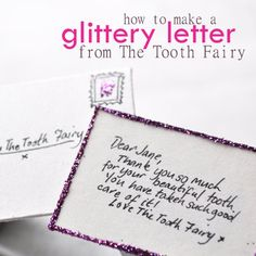 A Letter from the Tooth Fairy | Spoonful