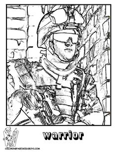 freemilitary printable coloring pages | Military Coloring Page | Military | Free | Army Coloring | Soldier ...