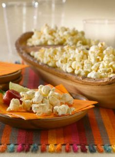 Chipotle Ranch Popcorn. This easy Super Bowl snack will be a hit.