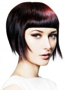 Best Short Hair cuts for Round Face 2012