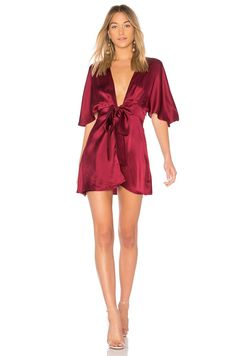 1d0080c1eb Shop for CAMI NYC The Lane Dress in Black Cherry at REVOLVE. Free day  shipping and returns
