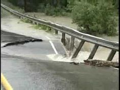 Culvert washout - amazing what the power of water can do.