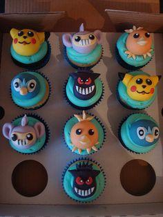 Pokemon cupcakes for a birthday boy by Angelina Cupcake, via Flickr