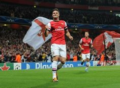 Oliver Giroud. Arsenal.