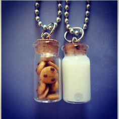 BFF necklaces I would have the cookies