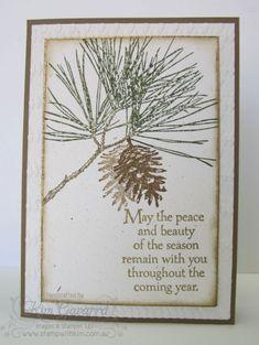 Ornamental Pine - Stampin' Up! http://www.stampwithkim.com.au/blog/?p=3041
