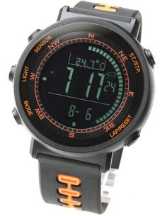 [ラドウェザー]腕時計 スイス製センサー デジタル・コンパス 高度計/気圧計/温度計 100ラップタイム スポーツ アウトドア メンズ/レディース
