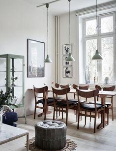dining table   swedish apartment