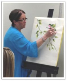 How to One Stroke Paint with Donna Dewberry The Plaid Palette Blog Post by Chris Williams