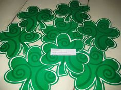 SINGING TIME IDEA: Music For Primary: Looking Forward to St. Patrick's Day