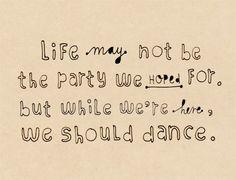 Yah man!! For sure, dance....dance!!