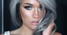 One of the biggest trends for Spring 2015 is dyeing your hair grey. The trend has been made ladies silver foxes in a number of ways with lavender, aqua, or blond tints, and they all look absolutely fabulous. No matter what age you are, it may be high time to go against the grain. Check out our gallery of some of the hottest #grannyhair looks!