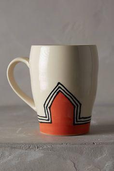 Up & At Em' Mug - anthropologie.com