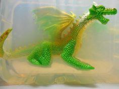 TwoHeaded FlameShooting DragonEmbedded Soap by TheGiftMaker, $12.00