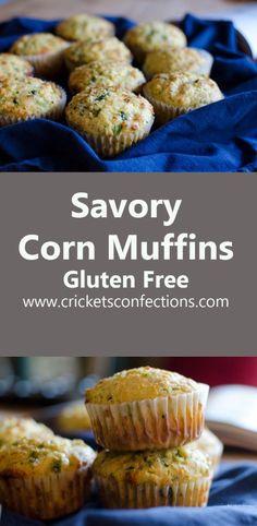 Savory Corn Muffins, Gluten Free!