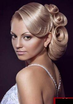 Wedding hairdo....