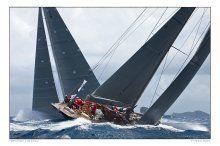 Hanuman, Rainbow, J Class, Sailing, Classic Boat, Ph. Franco Pace