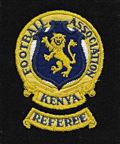 Referee, East Africa, Bat Signal, Porsche Logo, Kenya, Superhero Logos, Badges, Football, Buttons