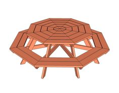 Ana White | Build a Octagon Picnic Table | Free and Easy DIY Project and Furniture Plans