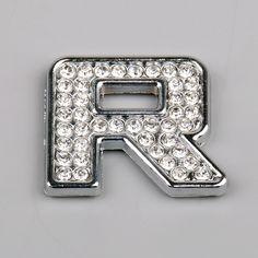 Mad Hornets - R Diamante Alphabet Letter Number Car Sticker Self Adhesive Badge Emblem 3D 3cm, $3.99 (http://www.madhornets.com/r-diamante-alphabet-letter-number-car-sticker-self-adhesive-badge-emblem-3d-3cm/)