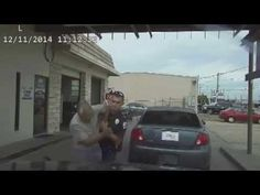 In Victoria, Texas a police officer was just recorded beating and tasering a 76-year-old man