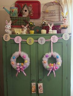 Fun Easter decor