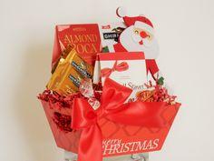 Festive Santa Snack Gift Basket Business Profile, Novelty Items, Gift Baskets, Party Favors, Festive, Santa, Snacks, Gifts, Food