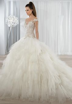 Demetrios 611 Wedding Dress - The Knot