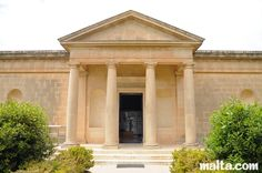 Entrance to the Domus Romana Museum in Rabat