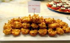 bite size mac and cheese appetizers