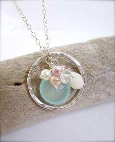 Hawaiian seashell beach necklace by Tidepools by Tidepools, $79.50