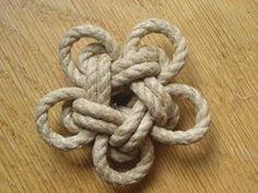 Réaliser un noeud d'étoile à un brin --par-- Nico-matelotage