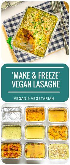 Make & Freeze Vegan Lasagne
