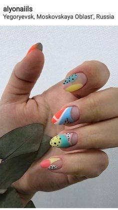 30 ideas which nail polish to choose - My Nails Aycrlic Nails, Hair Skin Nails, Get Nails, Love Nails, Pretty Nails, Nail Design Stiletto, Nail Design Glitter, Minimalist Nails, Funky Nails