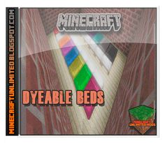 Minecraft Unlimited Mods: Descargar Dyeable Beds Mod para Minecraft [1.7.2]