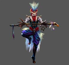 Witch Doctor by ~narm on deviantART