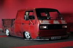 Clarabelle/Vanagon done up in Kombi Ute style!