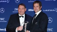 All Blacks, Dan Carter claim Laureus sports awards