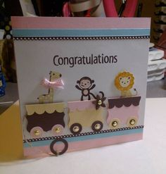 Baby Card by juskertay - Cards and Paper Crafts at Splitcoaststampers