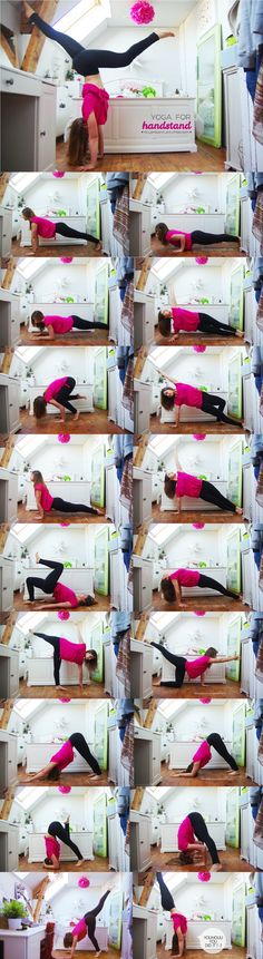 YOGA FOR HANDSTAND: Strengthen your arms, work your core, challenge your balance, do a handstand!