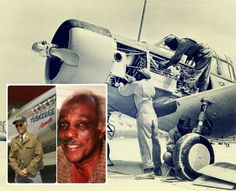 Goodbye, Decorated Tuskegee Airmen Clarence Huntley Jr. and Joseph Shambrey Who Died on the Same Day - http://www.warhistoryonline.com/war-articles/goodbye-decorated-tuskegee-airmen-clarence-huntley-jr-joseph-shambrey-died-day.html
