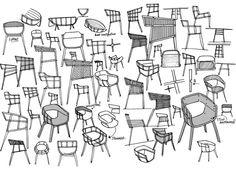 Benjamin Hubert sketches