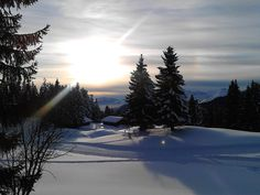 Love this picture that I took on the Pleney in Morzine