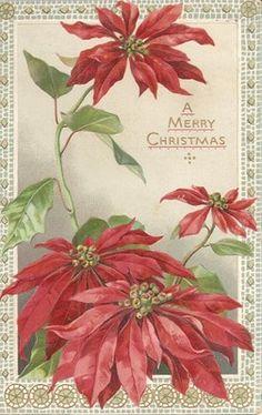 A antique Christmas postcard.