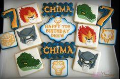 Lego Chima cookies
