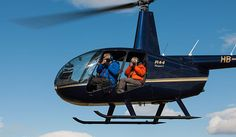 Helicopter photo flights over Iceland