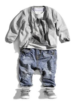 Little Brother Baby Boys Short Pants Summer Shorts Knit Bottom with Pocket