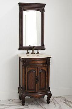 "23.5"" Bayside Harbor Sink Chest Bathroom Vanity 08204-110-101 #BathroomRemodel #BlondyBathHome #BathroomVanity  #TraditionalVanity"