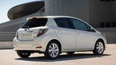 The Toyota Yaris Hybrid