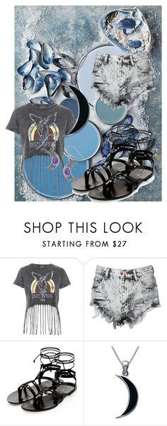 """""""Urban beach"""" by frizzynorse ❤ liked on Polyvore featuring Topshop, Glamorous and Carolina Glamour Collection"""